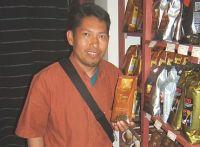 Kaffeeproduzent Laureano Torres Blanco im Weltladen